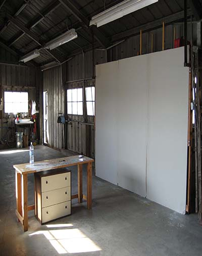 interior of Richmond Field Station studios