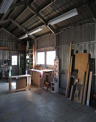 interior of the Richmond Field Station studios